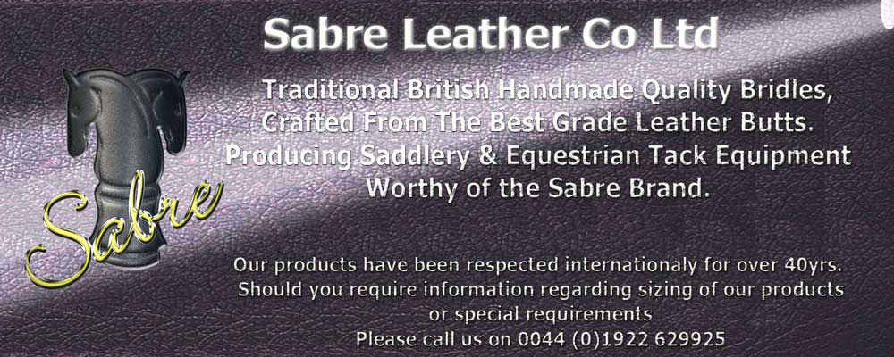 Sabre Leather Co - Sabre Bridles and all English Leather